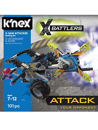 K'Nex 17065 X Battlers Saw Attacker Building Set
