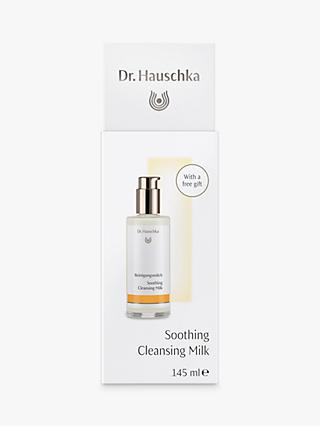 Dr Hauschka Soothing Cleansing Milk, 145ml with Eye Makeup Remover Sachet