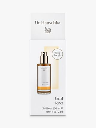 Dr Hauschka Facial Toner, 100ml  with Eye Makeup Remover Sachet