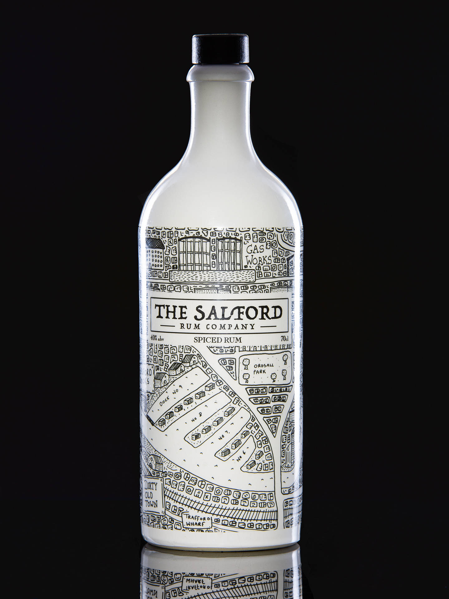 Stupendous Salford Rum Company Spiced Rum 70Cl Ibusinesslaw Wood Chair Design Ideas Ibusinesslaworg