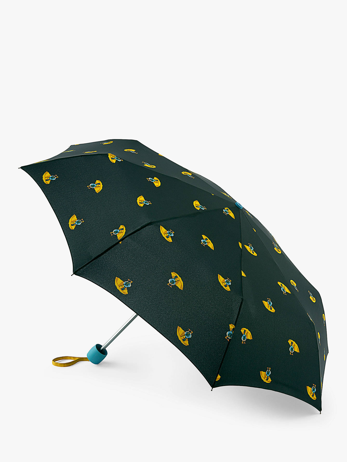 photograph about Umbrella Pattern Printable Free titled Joules Umbrella Ducks Print Telescopic Umbrella, Correct Armed forces/Multi