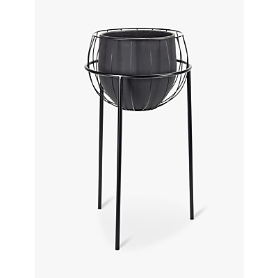 Serax Cage Plant Stand and Pot
