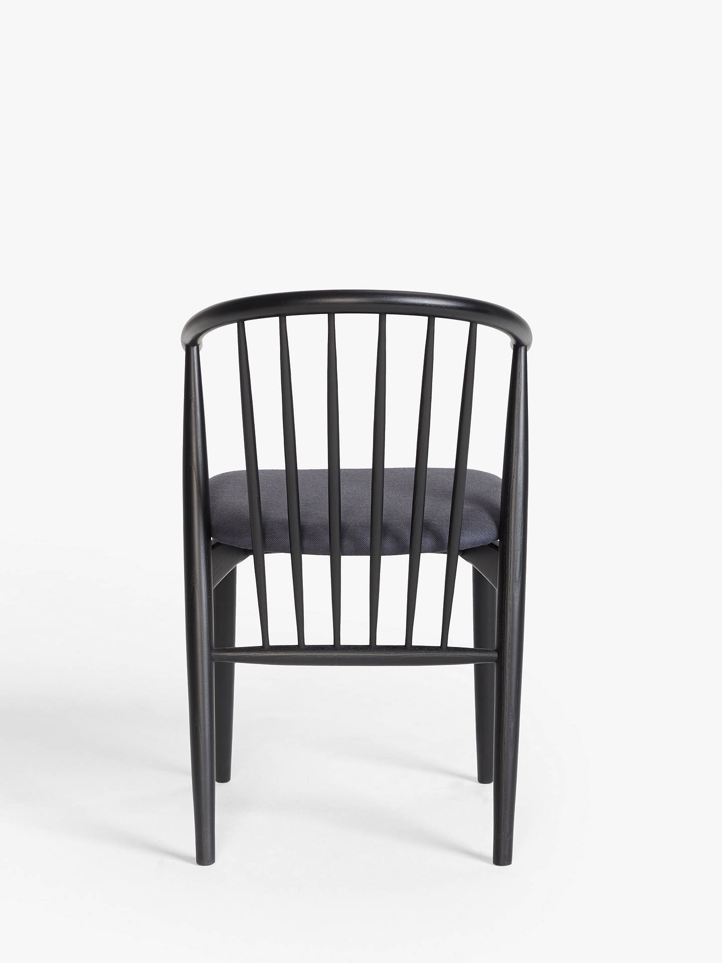 Admirable Croft Collection Kinross Spindle Dining Chair Black Evergreenethics Interior Chair Design Evergreenethicsorg
