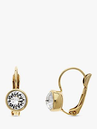 Melissa Odabash Swarovski Crystal Hook Drop Earrings