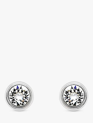 Melissa Odabash Swarovski Crystal Round Stud Earrings