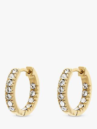 Melissa Odabash Swarovski Crystal Hoop Earrings