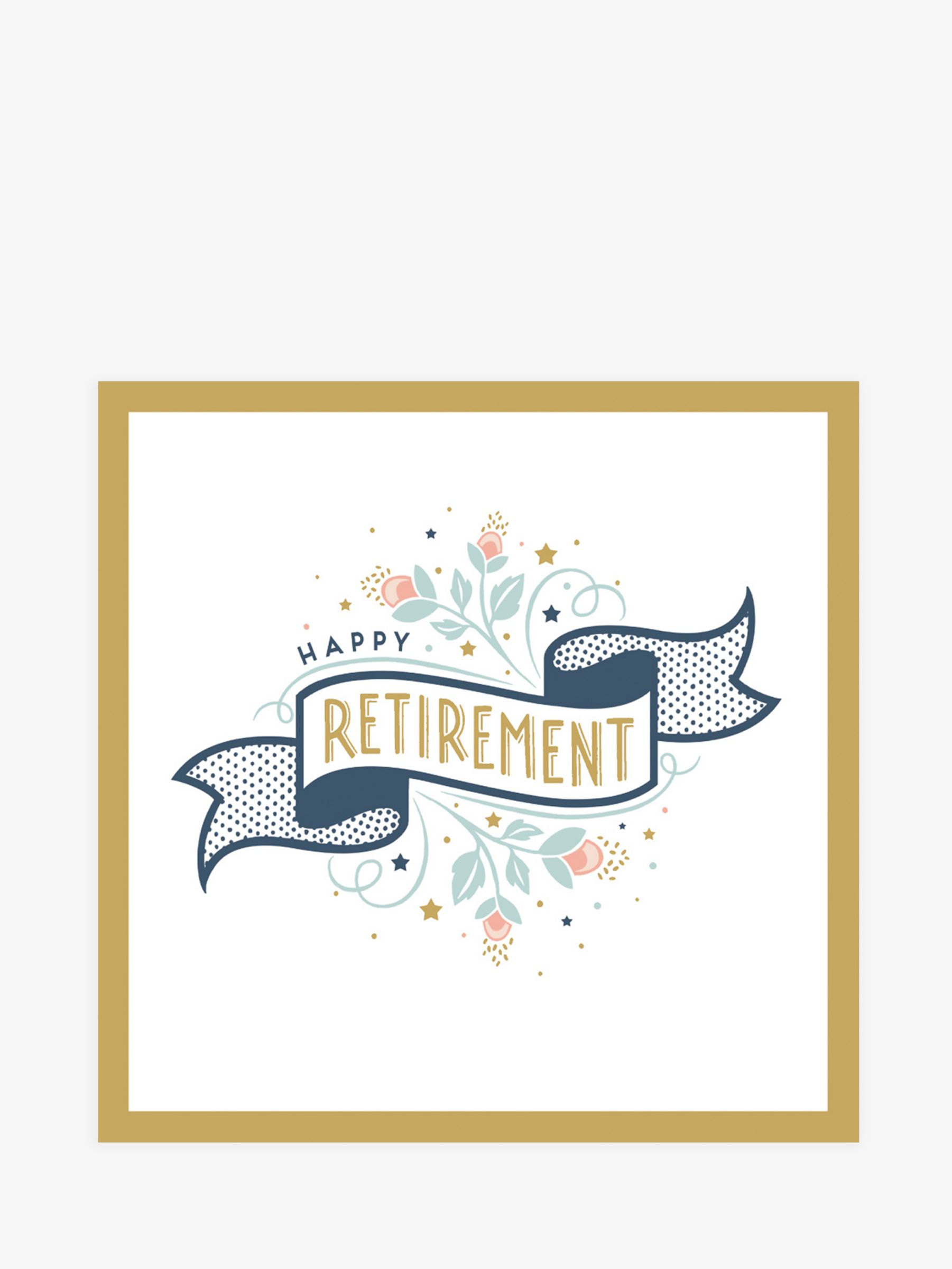 Art File Art File Happy Retirement Card