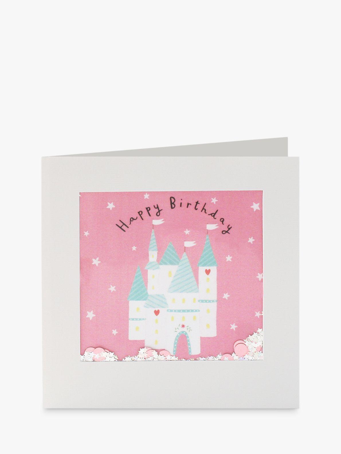 James Ellis Stevens James Ellis Stevens Fairy Castle Shakies Birthday Card