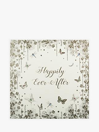 Five Dollar Shake Happily Ever After Wedding Card