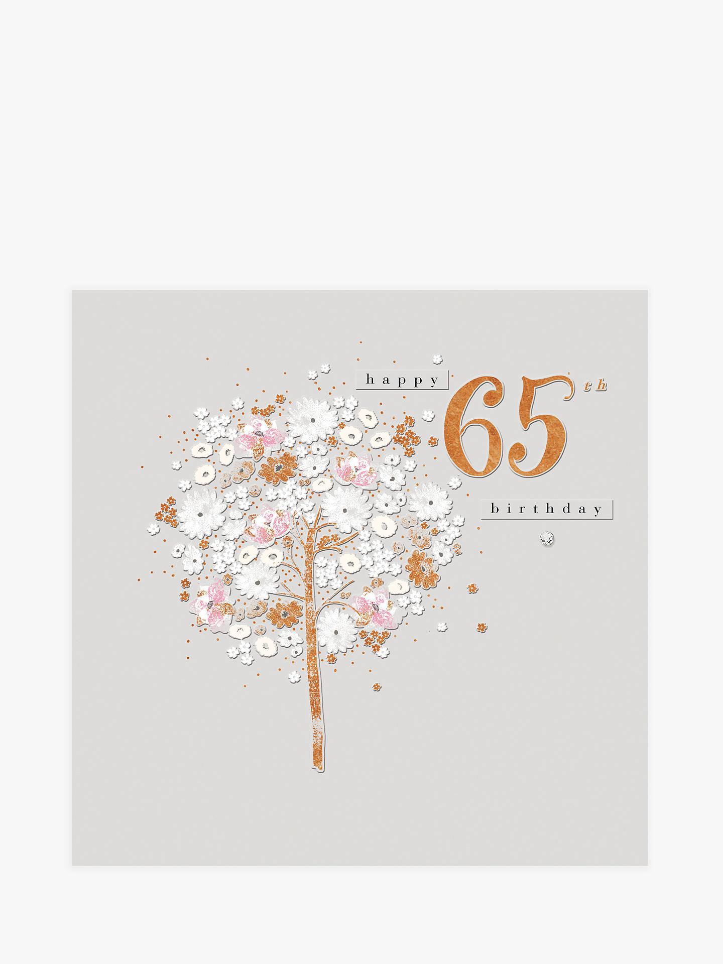 Buy Woodmansterne Floral Dreams 65th Birthday Card Online At Johnlewis