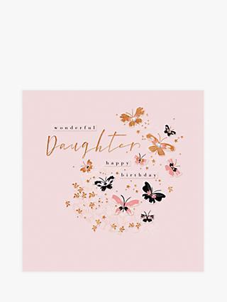 Woodmansterne Fluttering By Daughter Birthday Card