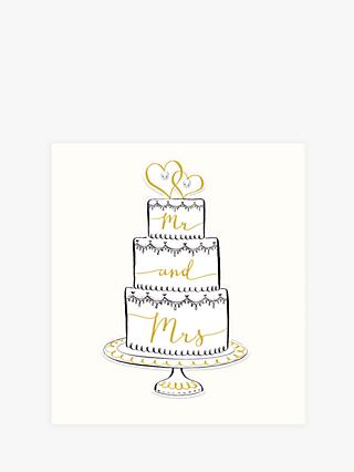Woodmansterne Cut The Cake Wedding Card
