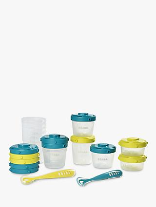Beaba Baby First Meal Food Storage Container Set