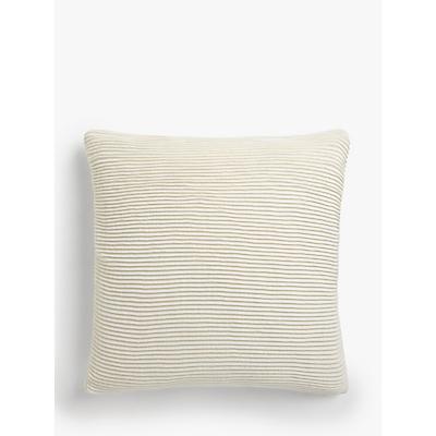 John Lewis & Partners Rib Knit Cushion