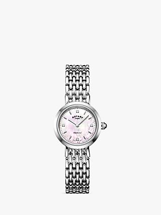 Rotary Women's Balmoral Diamond Bracelet Strap Watch