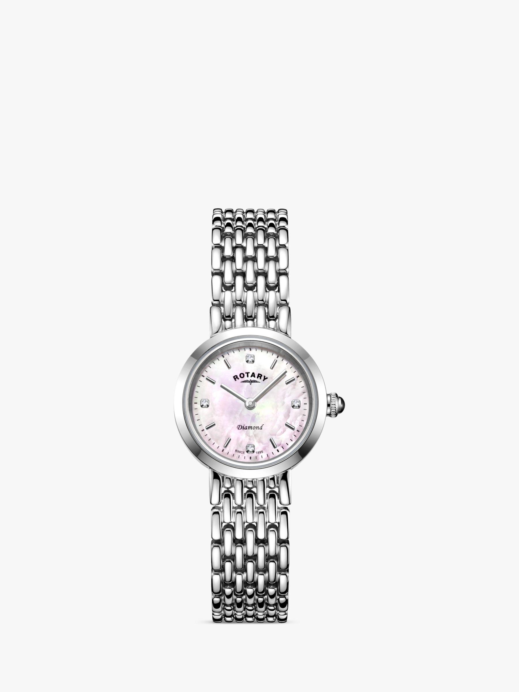 Rotary Rotary Women's Balmoral Diamond Bracelet Strap Watch