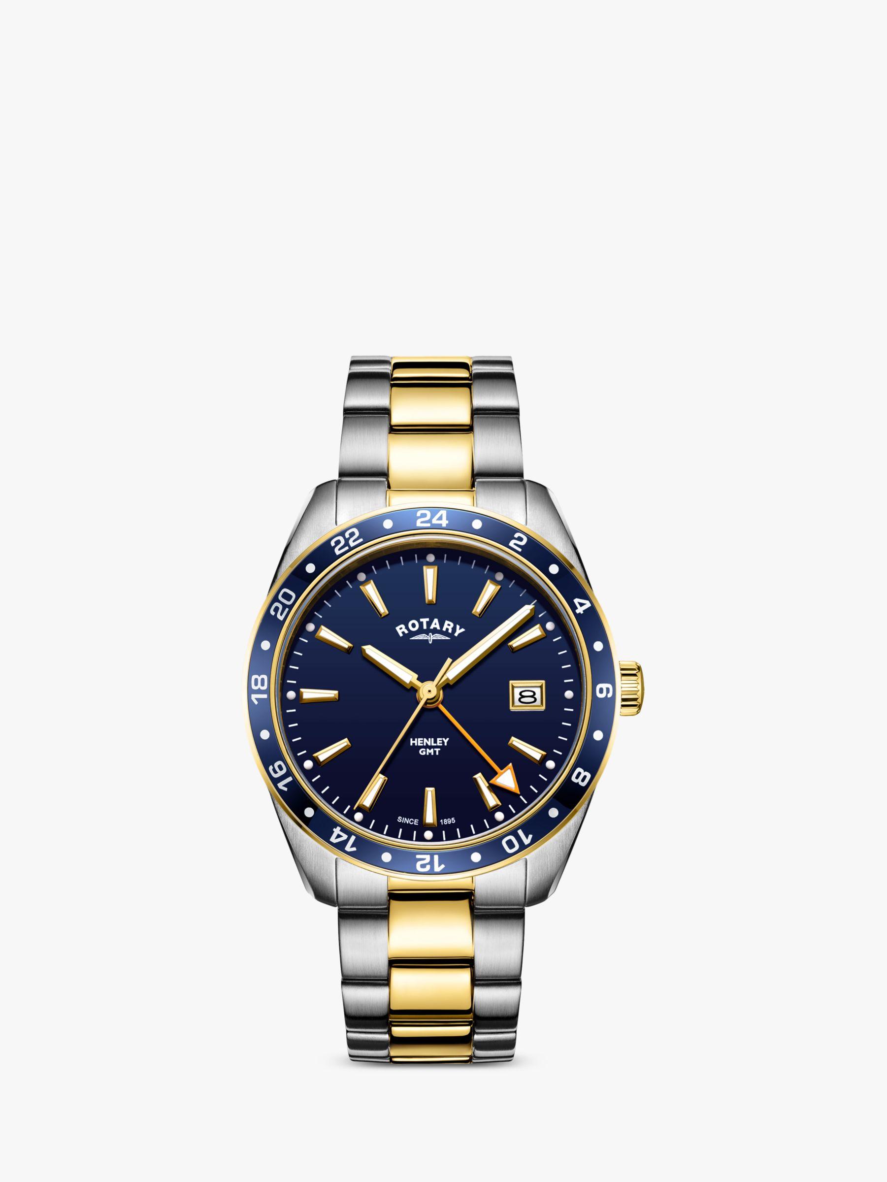 Rotary Rotary Men's Henley Date Bracelet Strap Strap Watch