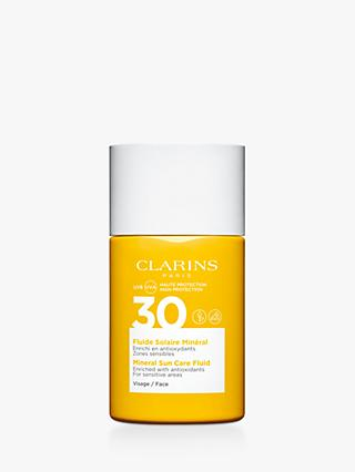 Clarins Mineral Sun Care Fluid Face SPF 30, 30ml