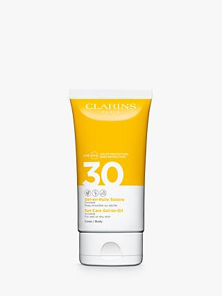 Clarins Sun Care Gel-To-Oil for Body SPF 30, 150ml