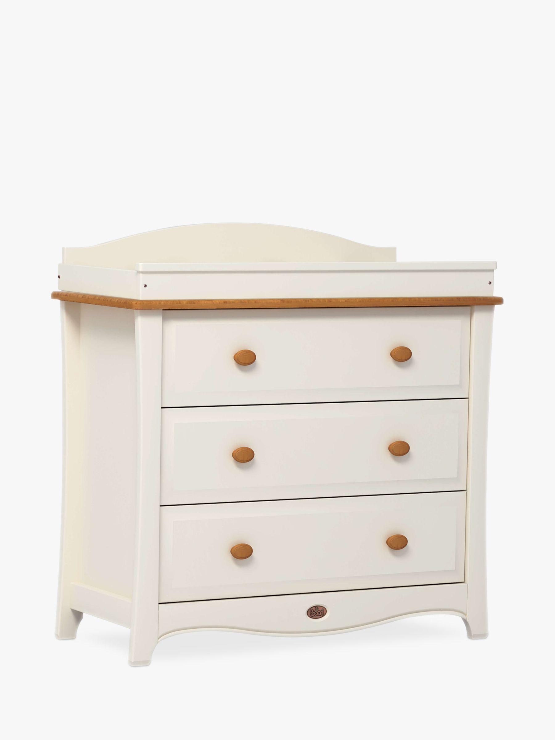 Boori Boori Provence 3 Drawer Dresser, Cream/Pecan