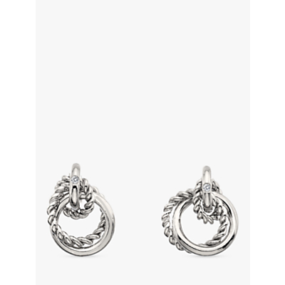 Image of            Hot Diamonds Unity Diamond Stud Earrings