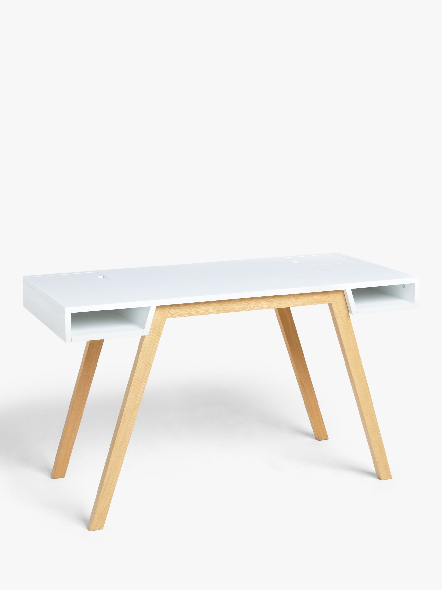 John Lewis & Partners Carter Desk, White
