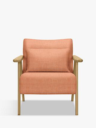 John Lewis & Partners Hendricks Accent Armchair, Light Wood Frame