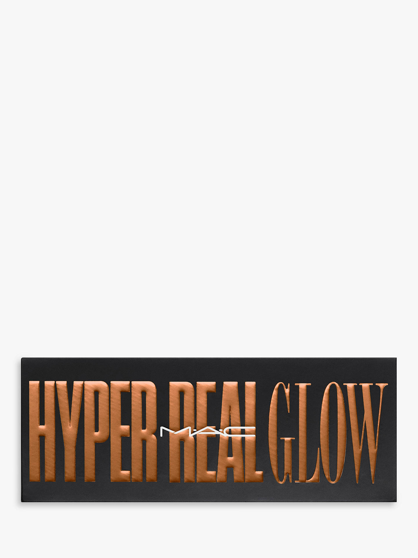 Buy MAC Hyper Real Glow Palette - Shimmy Peach Online at johnlewis.com