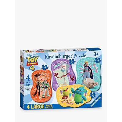 Ravensburger Toy Story 4 4 Large Shaped Jigsaw Puzzles