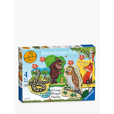 The Gruffalo 4 in a Box Jigsaw Puzzle, 52
