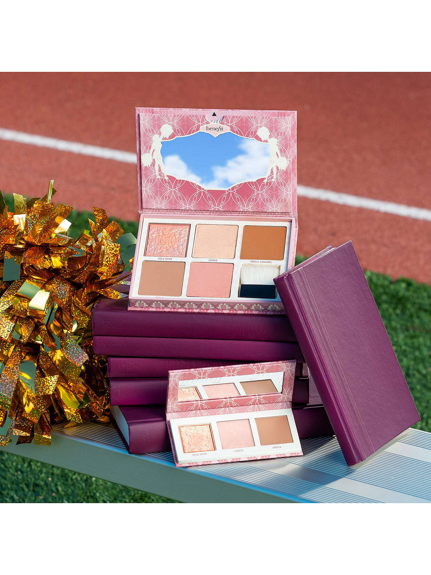 BuyBenefit Cheekleaders Highlight, Contour & Bronze Palette, Bronze Squad Online at johnlewis.com