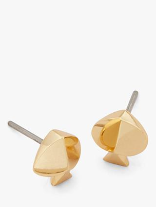 kate spade new york Spade Stud Earrings, Gold