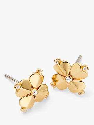 kate spade new york Flower Stud Earrings, Gold