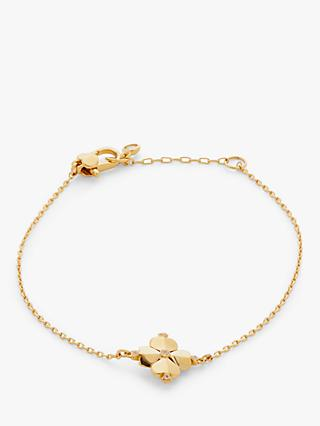 kate spade new york Flower Chain Bracelet, Gold