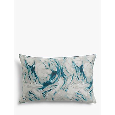 John Lewis & Partners Agate Cushion, Soft Teal