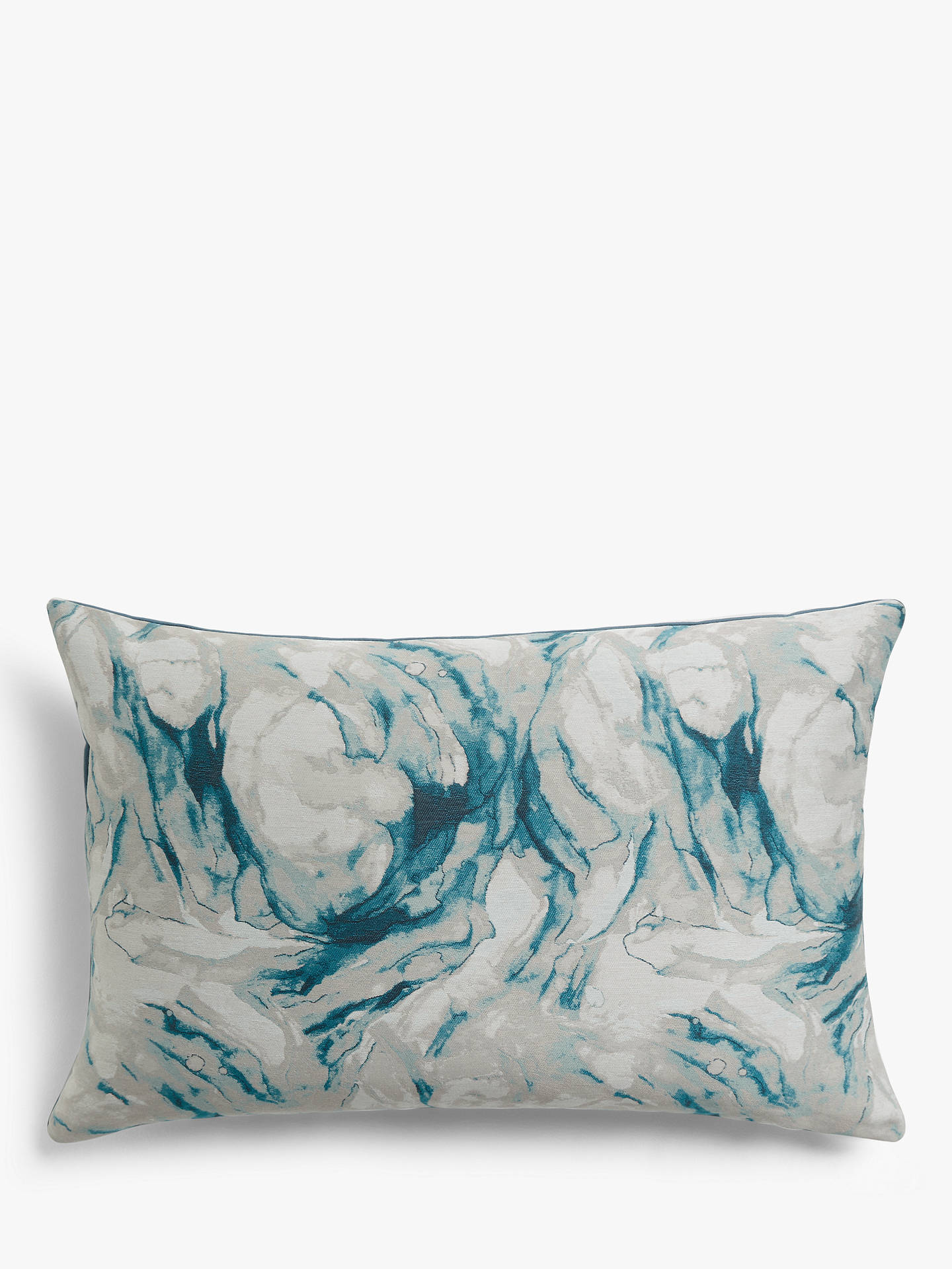 Buy John Lewis & Partners Agate Cushion, Soft Teal Online at johnlewis.com