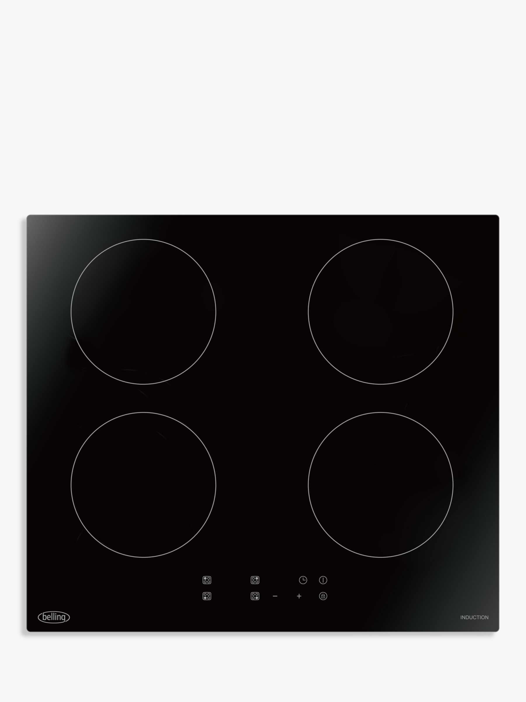Belling Belling IHT602 Induction Digital Touch Control Hob, Black