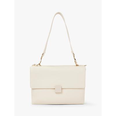 Modalu Maya Leather Shoulder Bag, Cream