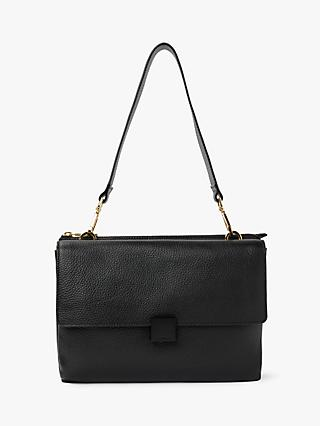 Modalu Maya Leather Shoulder Bag, Black