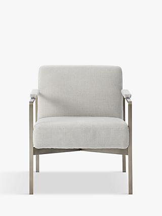 Highline Range, west elm Highline Armchair, Chenille Tweed