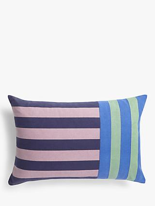 House by John Lewis Stripe Cushion