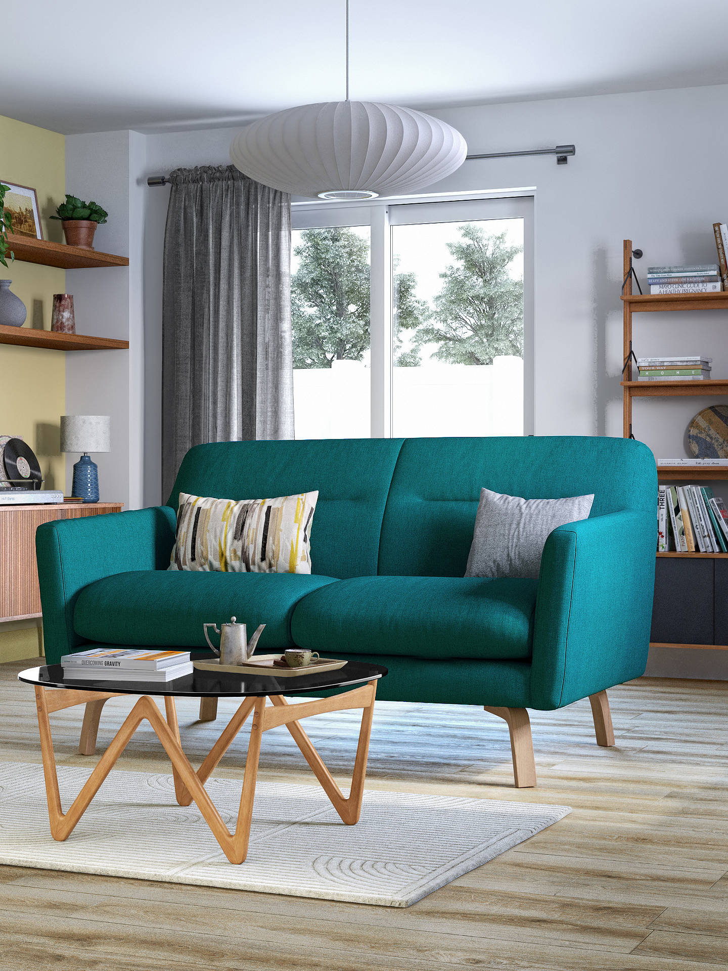 House By John Lewis Archie Ii Medium 2 Seater Sofa Light Leg At John Lewis Partners