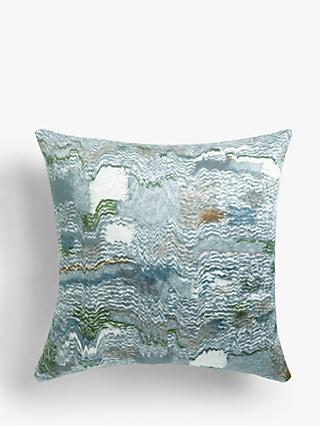 John Lewis & Partners Embroidered Kimono Cushion, Multi