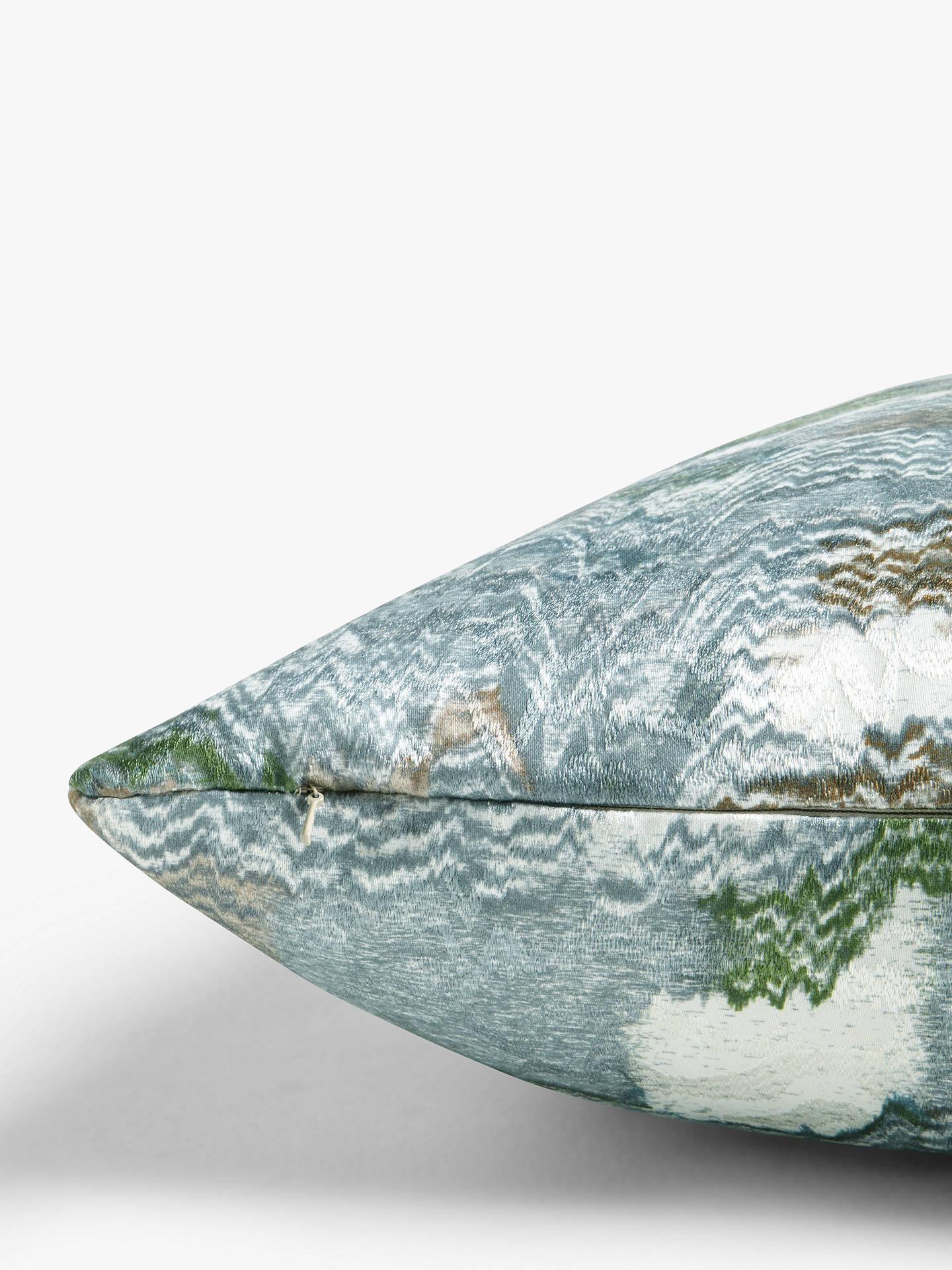 Buy John Lewis & Partners Embroidered Kimono Cushion, Multi Online at johnlewis.com