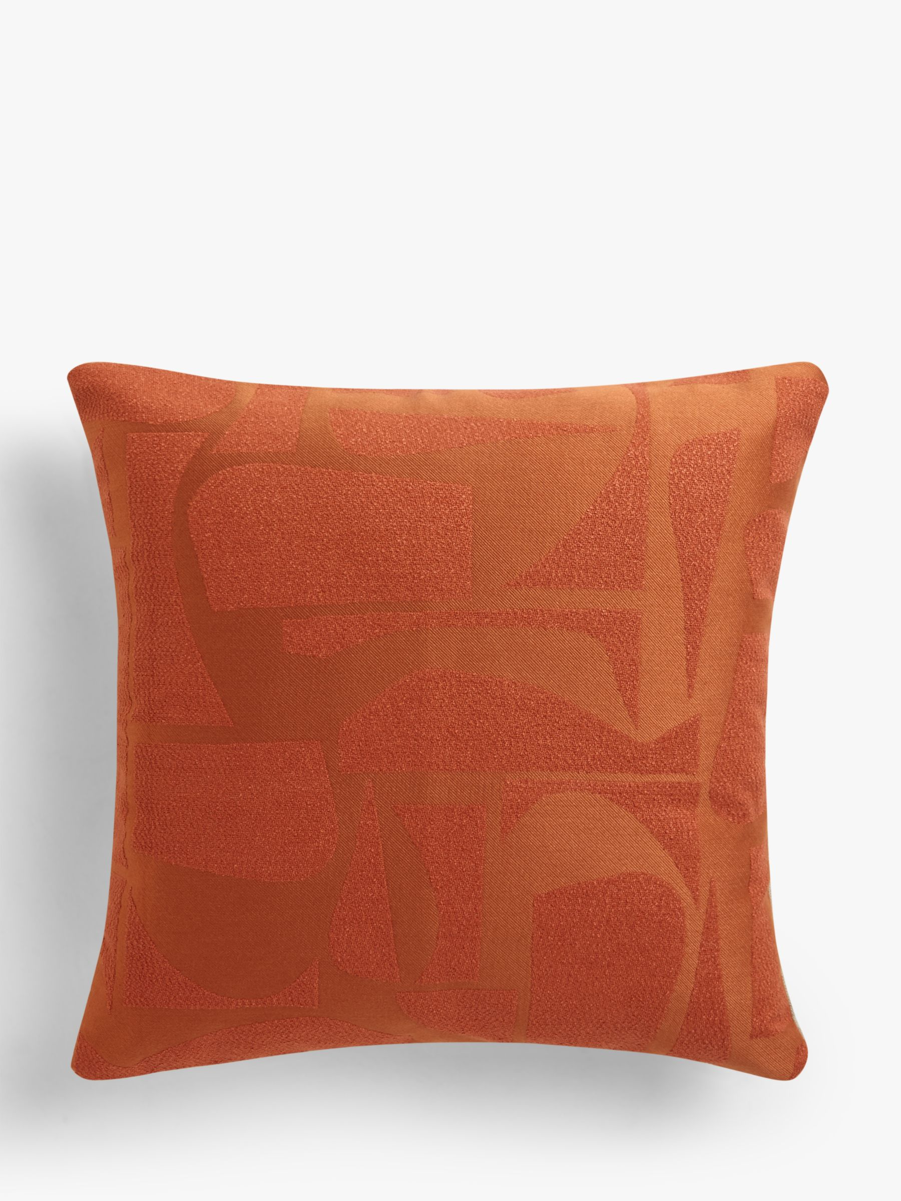 Buy Design Project by John Lewis No.197 Cushion, Burnt Orange Online at johnlewis.com