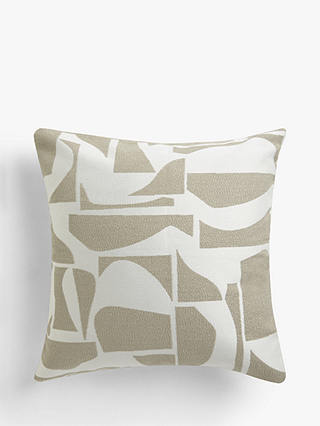 Buy Design Project by John Lewis No.197 Cushion, Natural Online at johnlewis.com