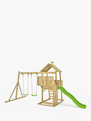 TP Toys Bruce Wooden Tower, Swing and Slide Set