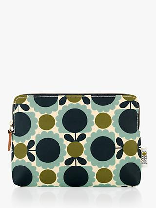 74d2e38987aa Orla Kiely Scallop Flower Spot Cosmetic Bag