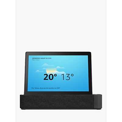 Image of Lenovo P10 TB-X705F Tablet, Android, Wi-Fi, 3GB RAM, 32GB eMMC, 10.1 HD, Aurora Black and Smart Dock Bundle
