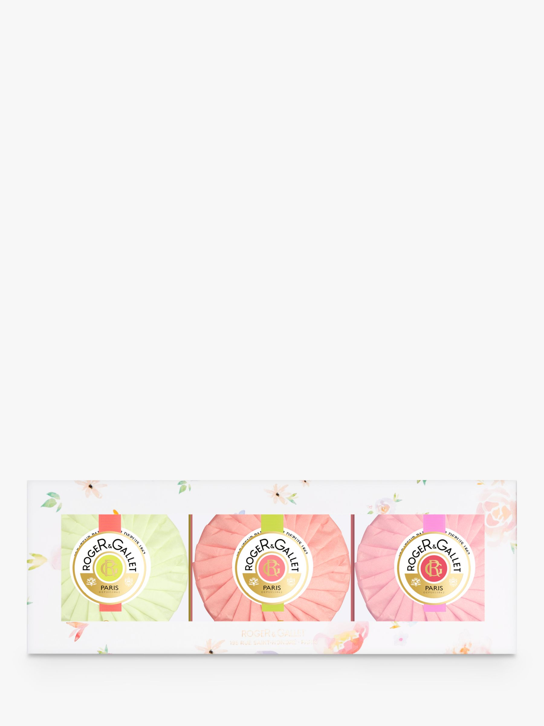 Roger & Gallet Roger & Gallet Mixed 3 Soap Gift Set, 3 x 100g